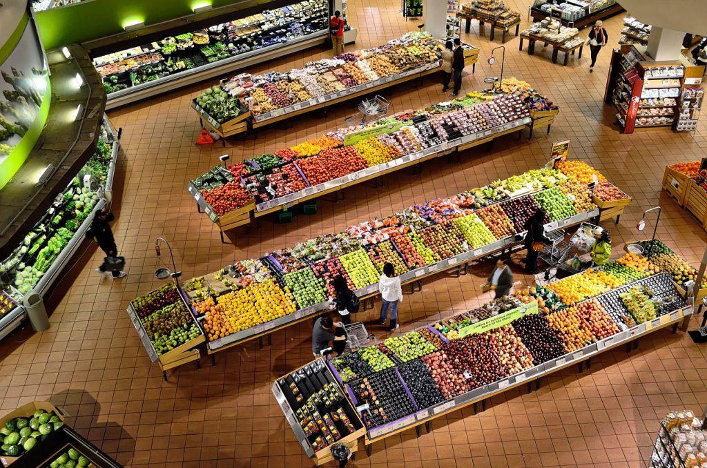 Bestil mad til døren og slip for indkøb i det lokale supermarked